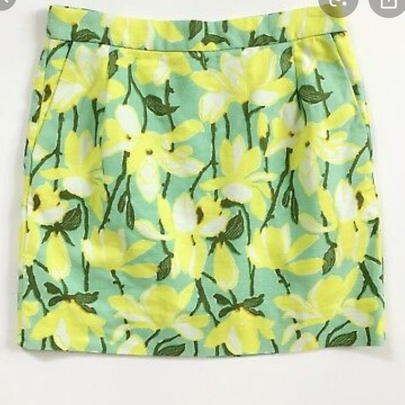 J. Crew Dresses & Skirts - J Crew • Lemon Lime Mini Skirt